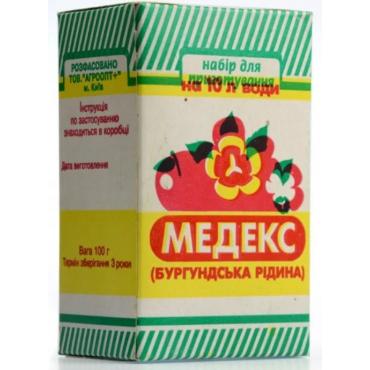 Фунгіцид Медекс (Бургундська рідина) 100 гр.